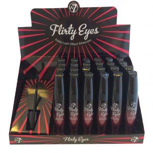 W7 Flirty Eyes Mascara 24 stuks op display
