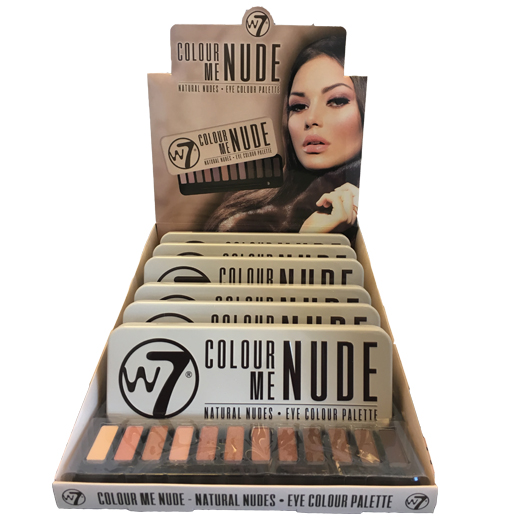 W7 colour me Nude Oogschaduw Palette